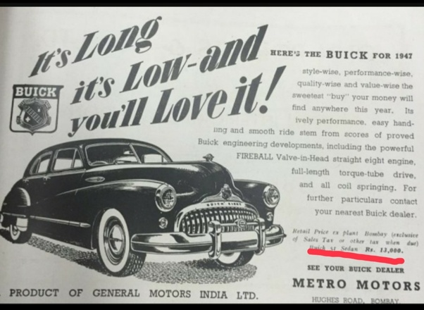 This Is The Famous Buick From Mid 1940s It Was A Symbol Of Luxury And Status Only Ultra Rich Could Manage To One S Price Whopping