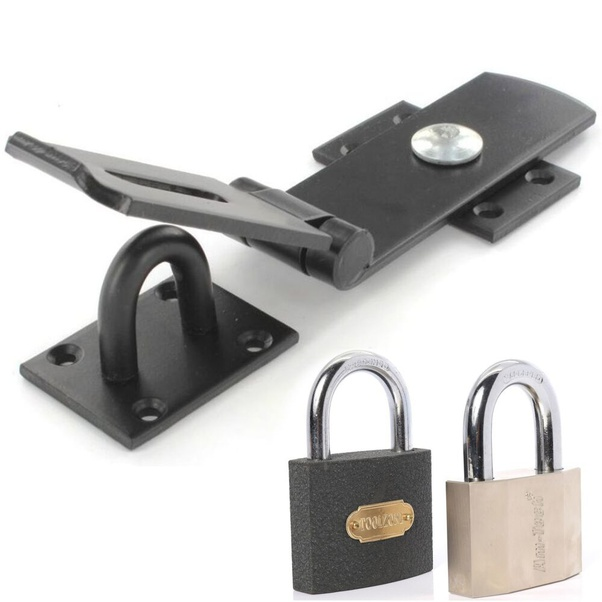 Buyers Products Plain Straight Side Security Latch Set