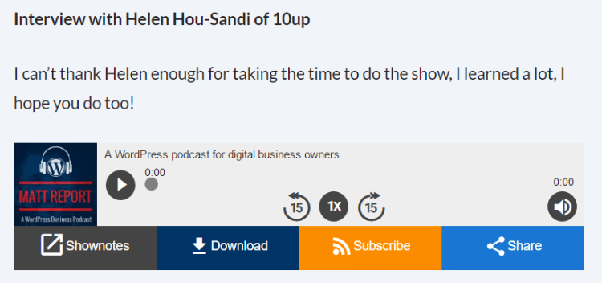 How would I go about hosting my own podcast on Wordpress? What