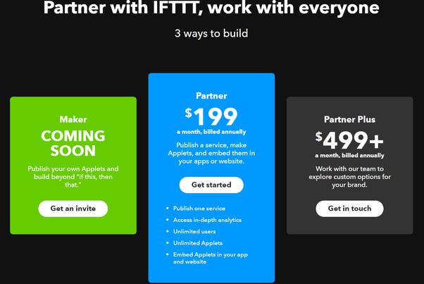 How does IFTTT make money? - Quora
