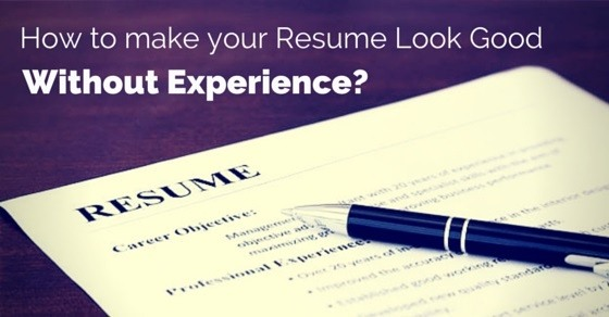 Include A Summary Statement: Resume Objective Statements Where You State  Exactly What Career Goals You Wish To Achieve. It Totals Up Your Identity  ...  How To Make A Resume Without Experience