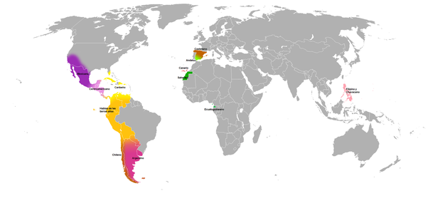 What are some differences between the spanish dialects quora there are roughly 11 regions into which dialects can be grouped based on common features and their histories gumiabroncs Images