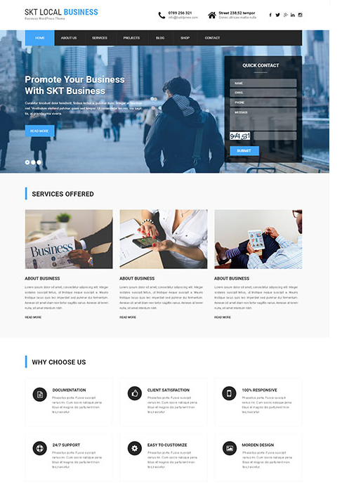 Where can I find a professional WordPress theme for my business ...