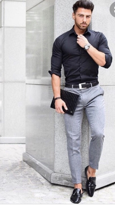 With shirt pants grey color what Top 10