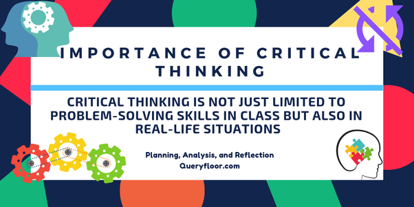 importance of critical thinking skills