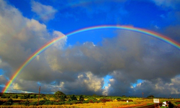 """Throughout history, humans have extremely interested in rainbows. Children's stories talk about the """"end of the rainbow"""", where a pot of gold resides, ..."""