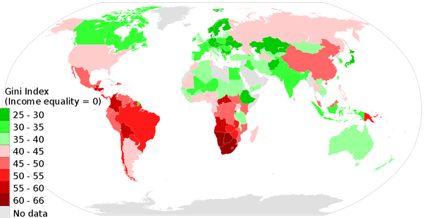 Will communism as a dominant political ideology ever make a comeback this map shows the budding revolutionaries all good breeding grounds for communism courtesy of world bank key word inequality publicscrutiny Choice Image