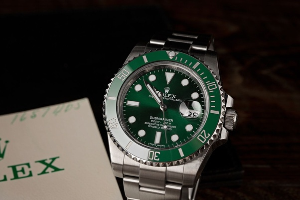 What is the difference between Rolex Kermit and Rolex Hulk