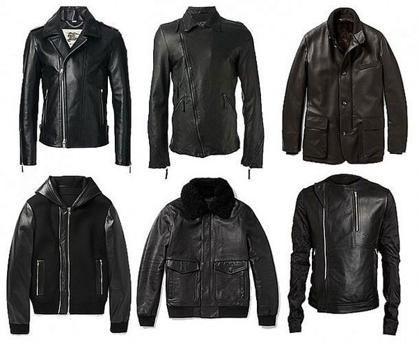 I've been looking for a perfect leather jacket as a gift ...