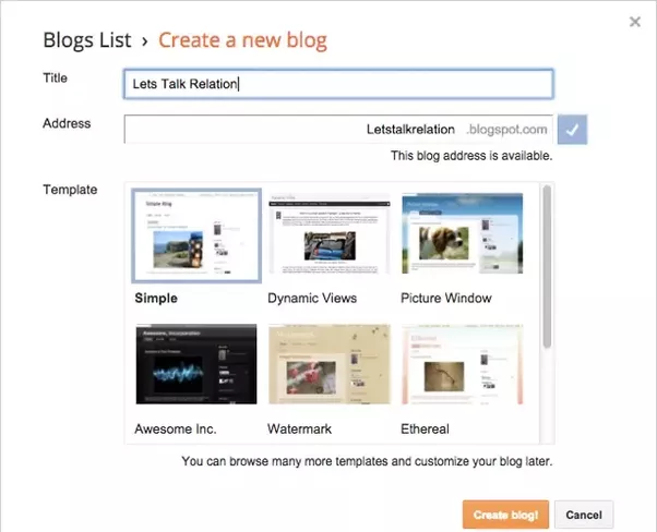 Step 3: You Are Now On The BlogSpot Dashboard Where You Will See Your Blogu0027s  Backend. From Here You Can Go To U201cSettingsu201d And Make Changes To Improve  Your ...
