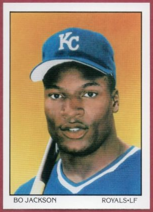 How Much Is A 1990 Bo Jackson Score Card Worth Quora