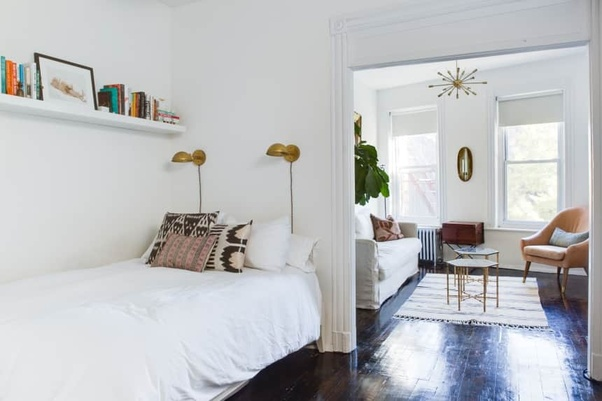 Finding Design Savvy Ways To Magically Create Extra Storage Space In A Tiny  Bedroom Isnu0027t Always Easy. While Unsightly Over The Door Organizers And  Bulky ...