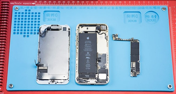 buy popular 95ce7 a62a7 How to fix an iPhone 7 that has ghost touching after I replaced the ...