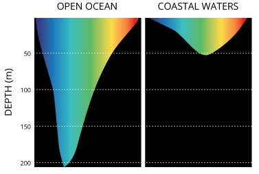ocean Light penetration