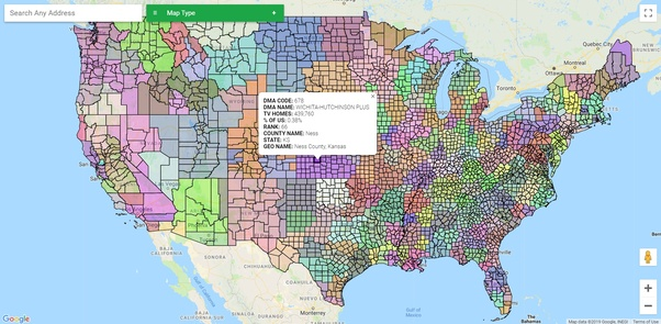 Where can I download/purchase a zip code for DMA region mapping? - Quora