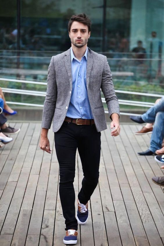 Are black skinny jeans okay for business casual attire? - Quora