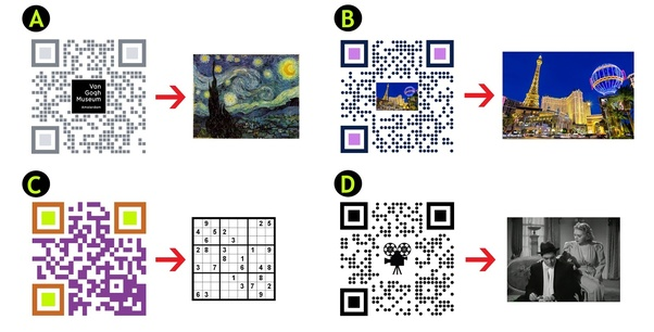 How to generate QR codes with text or logos embedded - Quora
