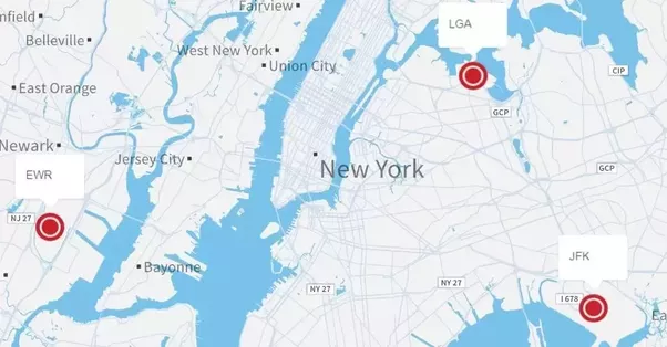 If I\'m going to Times Square, should I fly into LaGuardia or JFK ...