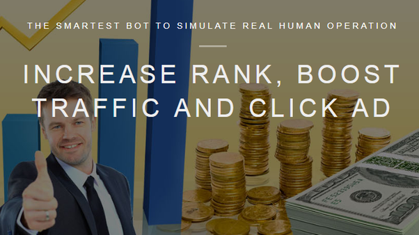 Which bot is useful to generate hits and traffic for a
