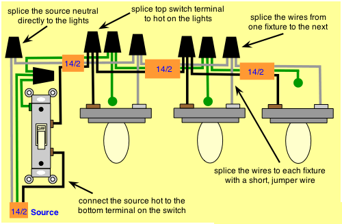 how to wire multiple outlets between three way switches  quora