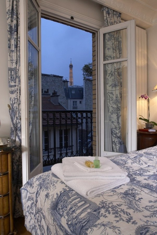Which hotel has the best views in paris quora for Hotels around eiffel tower