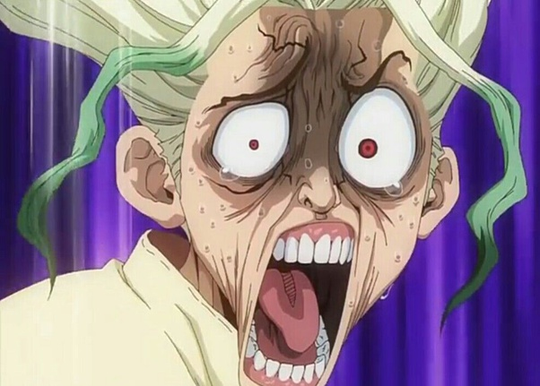 Which Are The Weirdest Reactions Of Anime Characters Of All Time Quora