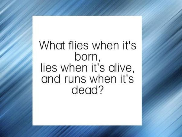 What are some great riddles? - Quora