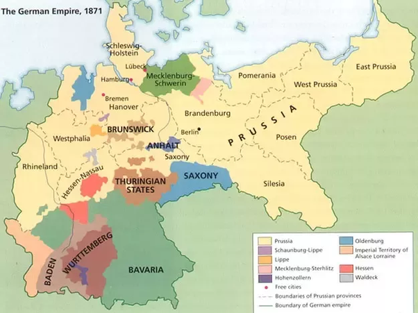 What is the difference between Prussia and Germany? - Quora Kingdom Of Bavaria In Germany Map on rhine in germany map, poland in germany map, world war i in germany map, baden-württemberg in germany map, frankfurt in germany map, saxony in germany map, bremen in germany map, munich in germany map, cologne in germany map, hamburg in germany map, black forest in germany map, alps in germany map,