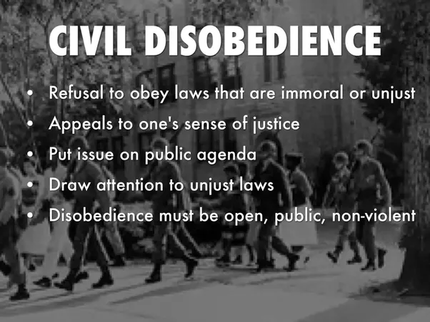 Marvelous Civil Disobedience Is Sometimes, Though Not Always, Defined As Being  Nonviolent Resistance.