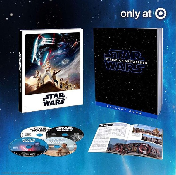 When Is The Star Wars The Rise Of Skywalker 2019 Dvd Blu Ray Or Online Streaming Release Date Quora
