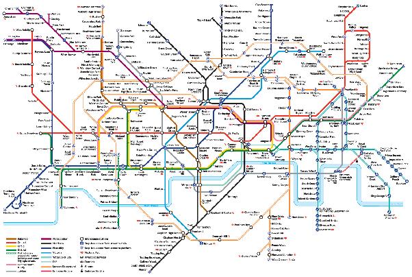How to map underground subway stations - Quora