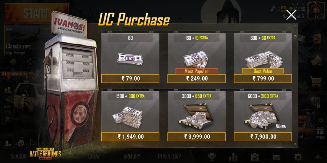 How To Get A Free Uc In Pubg Mobile Quora
