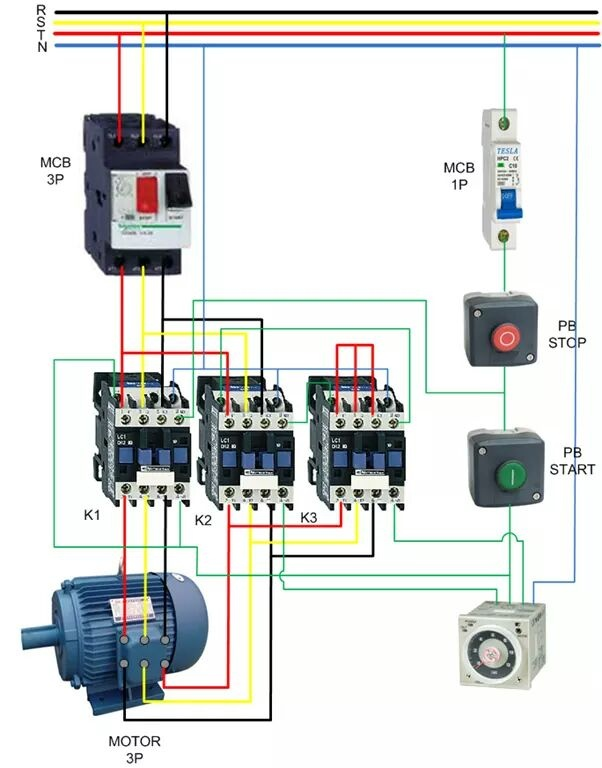 What Is The Proper Star-delta Motor Connection