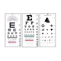 Why do all optometrists use the same set of letters for eye exams the eye exam charts are not the same for all purposes you are likely referring to the snellen visual acuity chart as above the chart can be validated for solutioingenieria Gallery