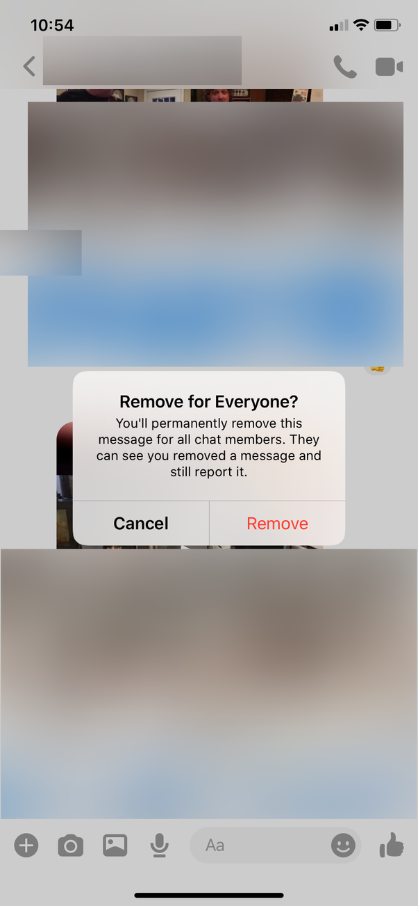 Does Facebook Messenger Now Allow Users To Unsend Messages For Both Parties After 10 Minutes As Long As The Message Was Not Read By The Recipient Quora