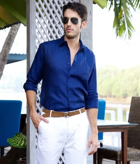 2dd1e02112 What Color Of Pants Should I Wear With A Dark Blue Shirt Quora