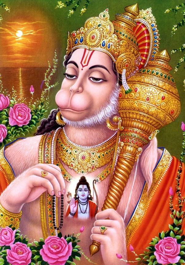 Did Lord Hanuman always do pooja and is Lord Hanuman doing