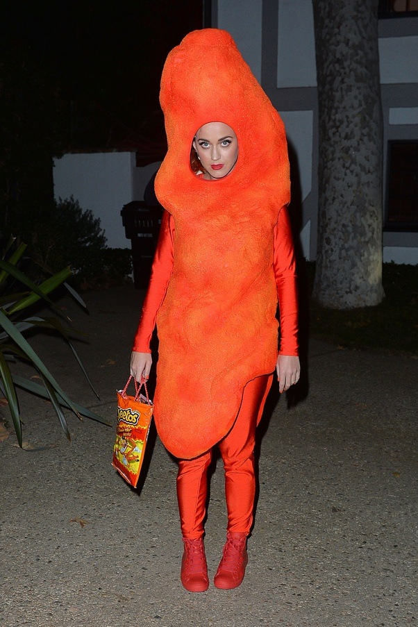 PHOTO Katy Perry Dressed As A Giant Cheeto Is Winning Halloween | iHeartRadio  sc 1 st  Quora & Why are womenu0027s (and girlsu0027) Halloween costumes sexualized but not ...