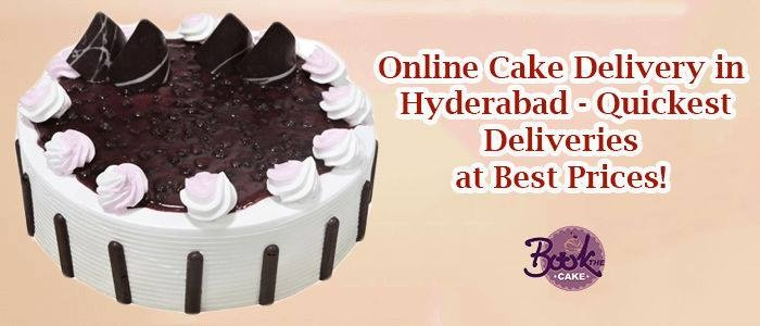 Get Your Favourite Dessert To Come Right Doorstep With This Brilliant Feature Of Online Cake Delivery In Hyderabad And Indulge It