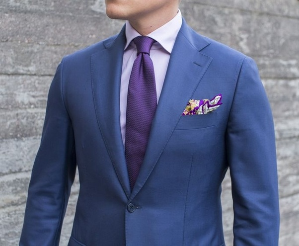 What Colour Suit Goes Well With A Purple Tie Quora