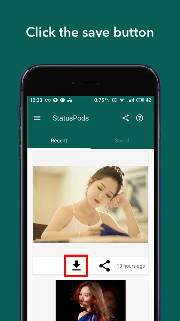 How to download a WhatsApp status in a Vivo Y71 phone - Quora