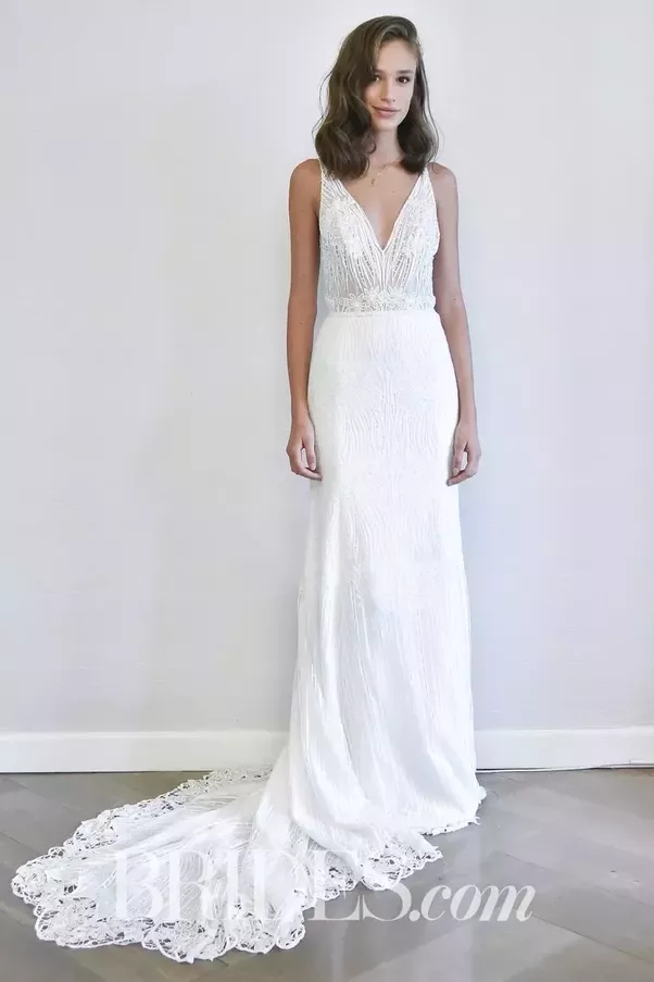 What style of wedding dress would be best for a short bride? - Quora