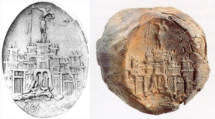 Poseidon-Poteidan Minoan seal