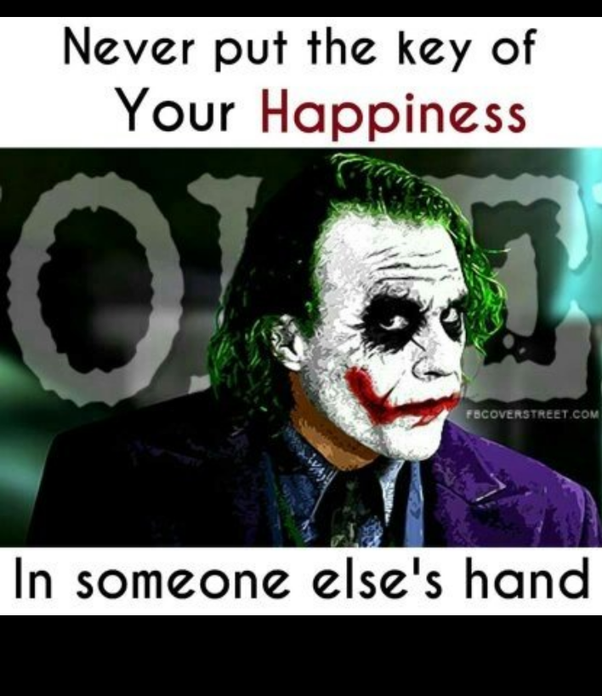 Which are the Joker's best quotes? - Quora