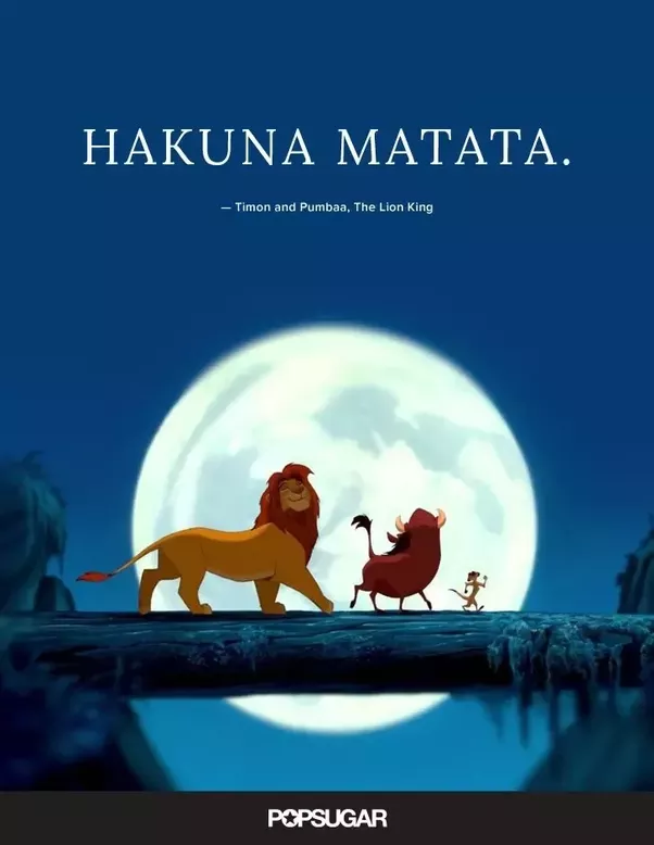 Why Is Hakuna Matata And Jambo Mainly Used By Foreigners And Not
