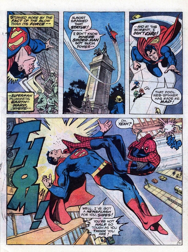 If a fight ensued between Spider-Man and Superman, who ...