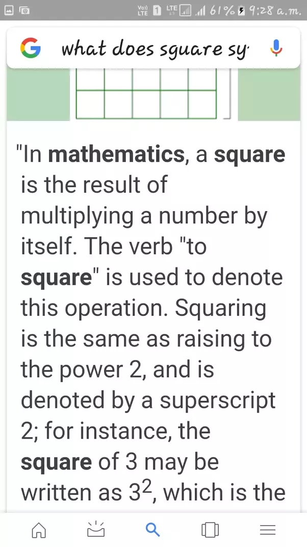 What Does Square Symbol Mean In Maths Quora