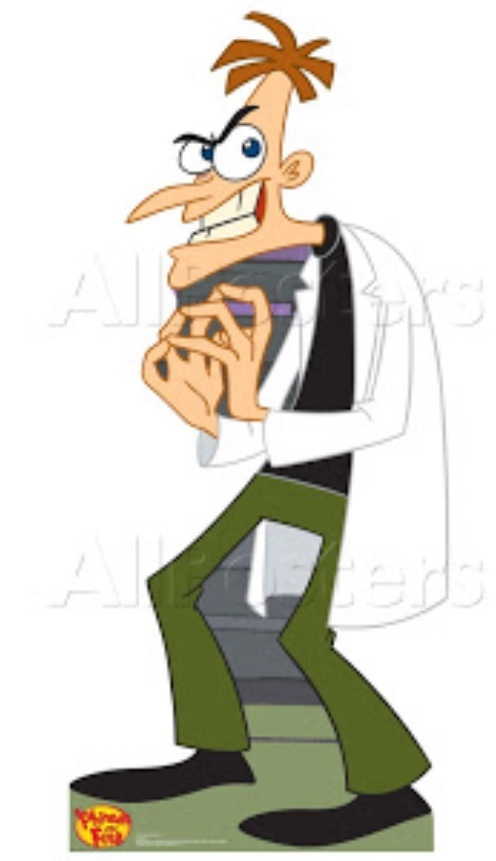Phineas And Ferb Incest Porn - Do villains always wear black? - Quora