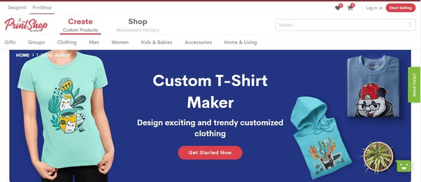 How To Create An Online T Shirt Design Tool Like Create And Sell Custom Merchandise Quora