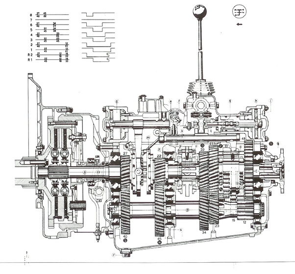 manual transmission diagram